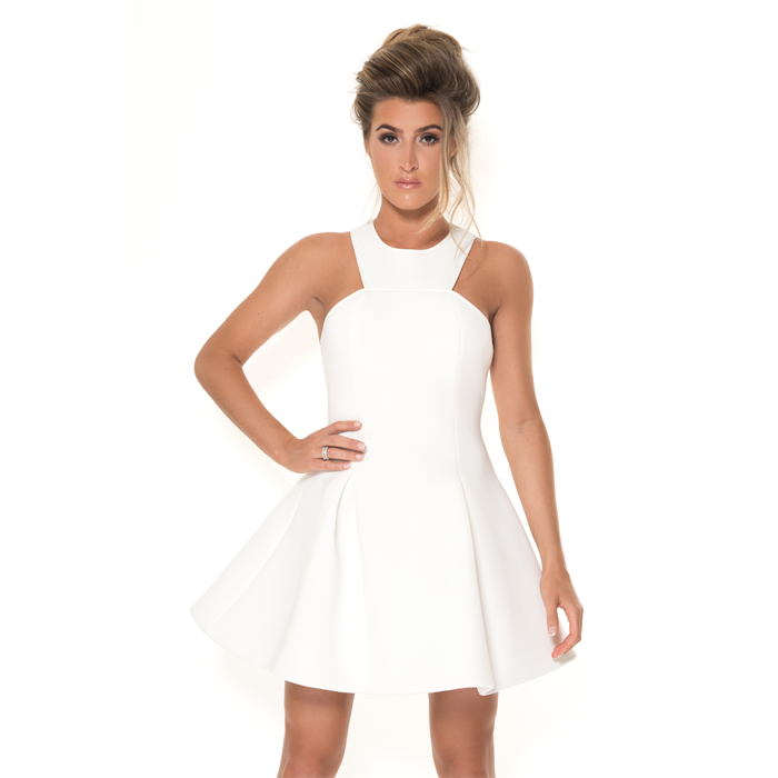 Lexie – Cream Dress
